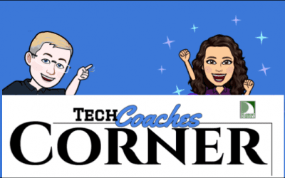 Reminder!  Tech Coaches Corner is this Afternoon