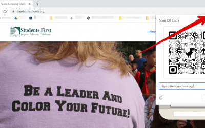 #TechCoachTip | Create a QR code for any site you open in Chrome